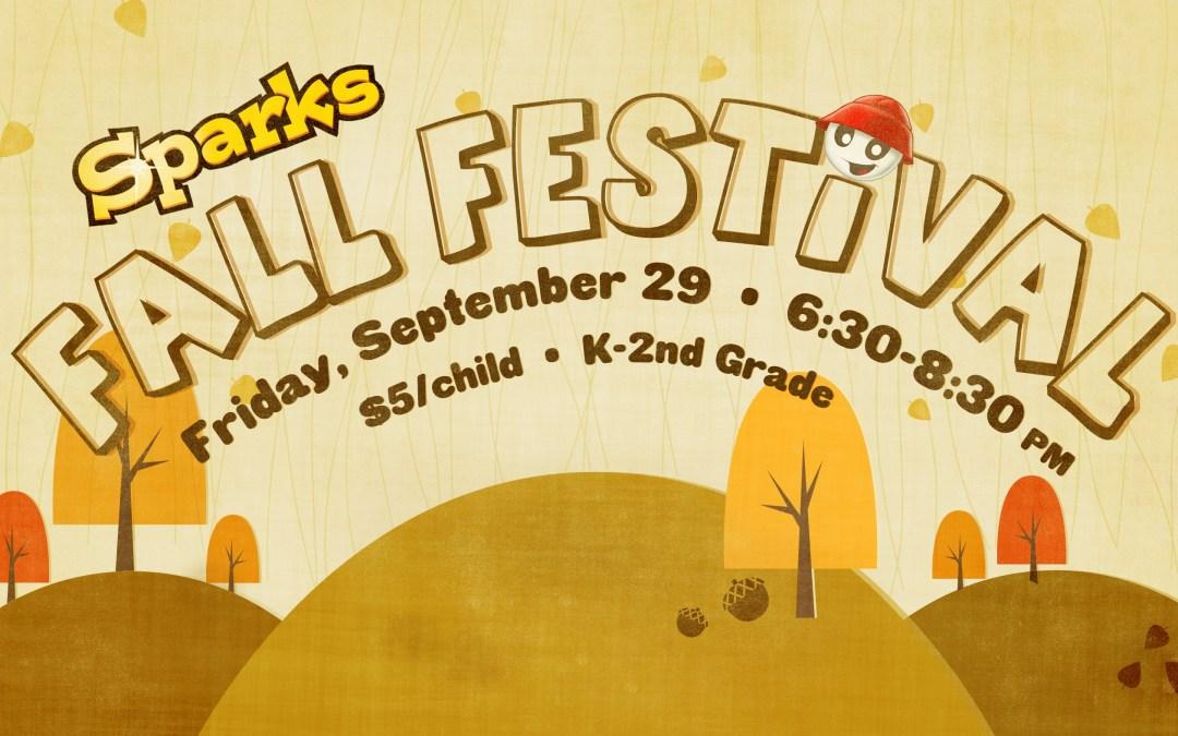 Sparks Fall Festival (K-2nd)