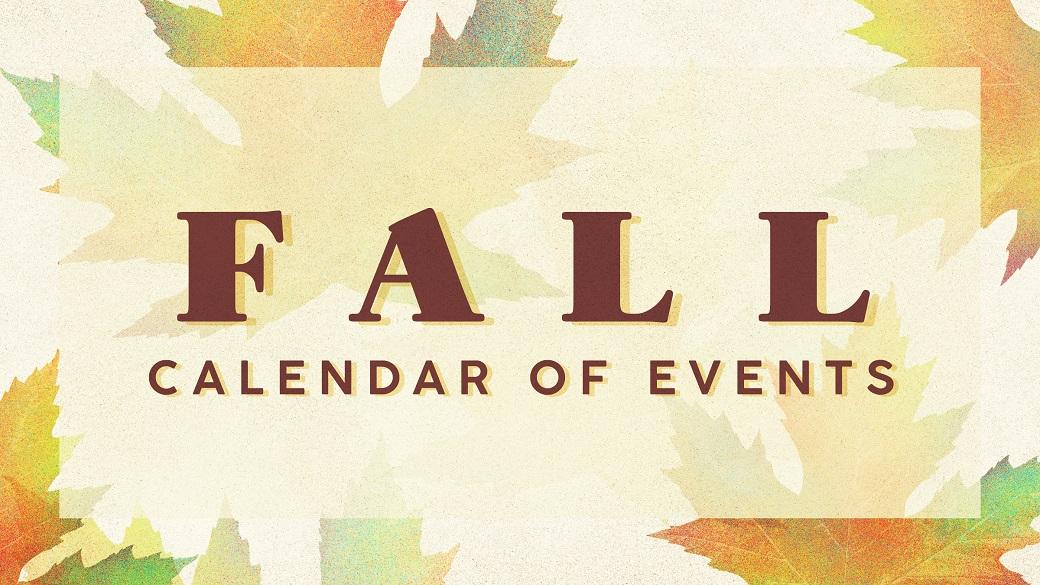 Fall at Bible Center