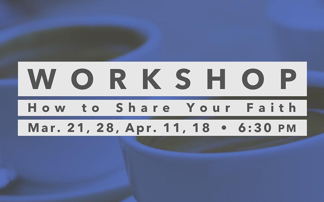 March/April Workshop