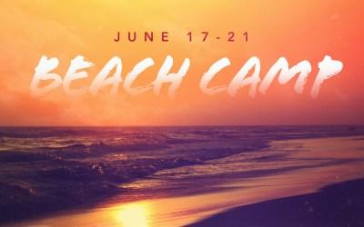 Beach Camp (6th-12th)