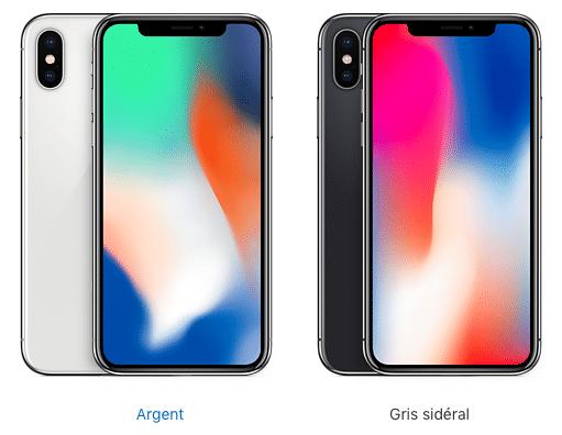 iPhone 10 design face avant