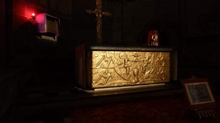 — Chapelle du saint-sacrement - Cathédrale Notre Dame de l'Assomption - Clermont-Ferrand —