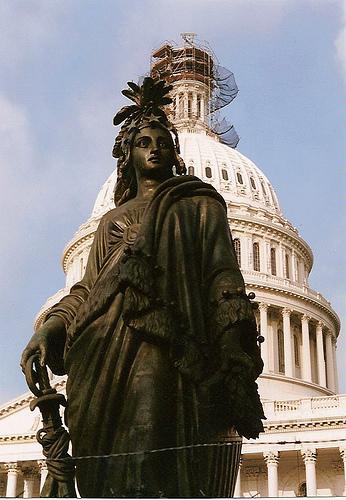 """Proserpine - Statue de la """"Liberté"""""""