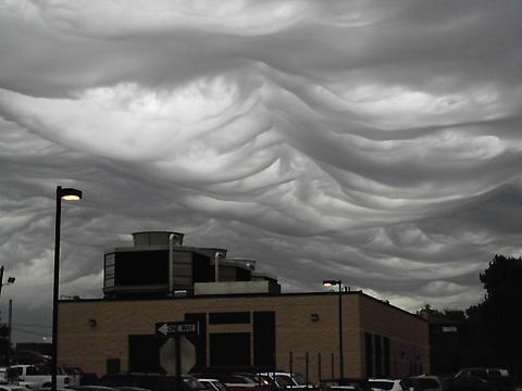 Autres types de nuages inexplicables