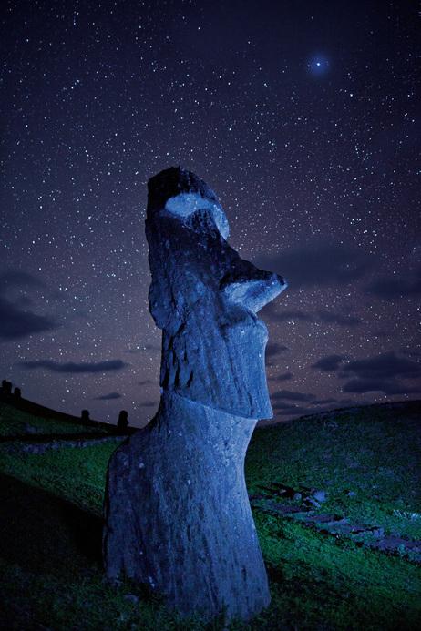 Moai Rano raraku  Ile de Pâques