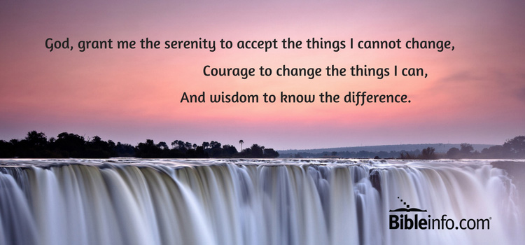 serenity prayer words