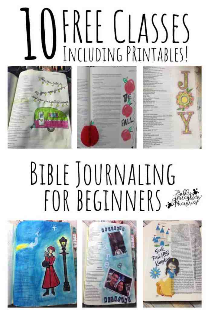 Free Bible Journaling Course for Beginners - Grow in the ...