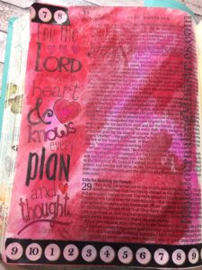 1 Chronicles - Bible journaling entry