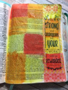 2 Chronicles - Bible journaling entry