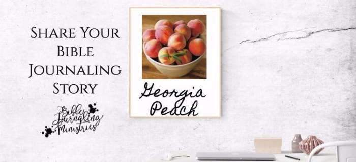 Share Your Bible Journaling Story – Georgia