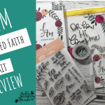 I AM – The Latest Illustrated Faith Bible Journaling Kit Review