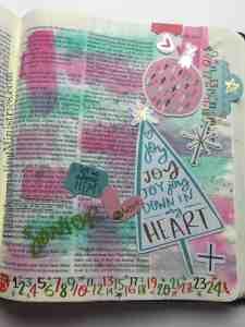 Bible Journaling Luke 2:10