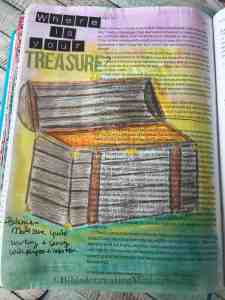 Bible Journaling Luke 12:34
