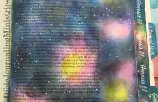 Bible Journaling Ideas for Bible Verses about Creation