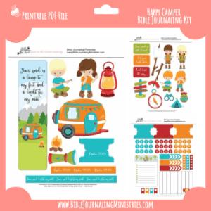 Happy Campers Digital Kit