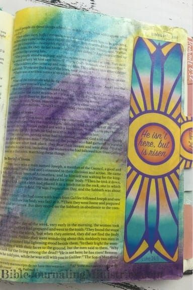 Bible Journaling Luke 24.6