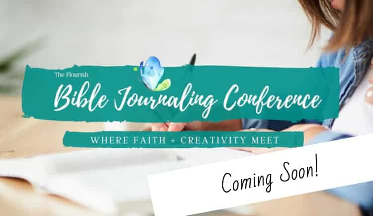 flourish bible journaling conference