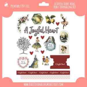 A Joyful Heart Mini Bible Journaling Kit
