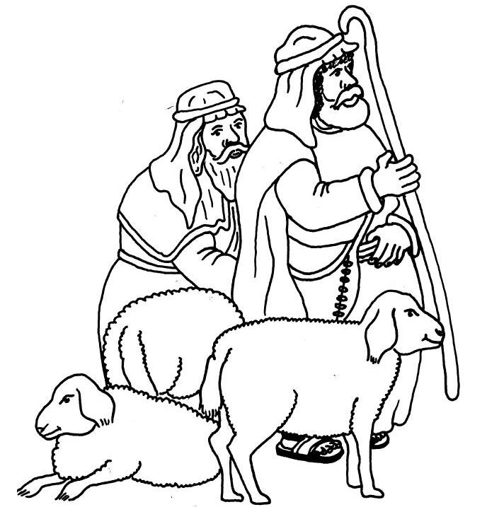 christmas shepherds coloring pages hicoloringpages