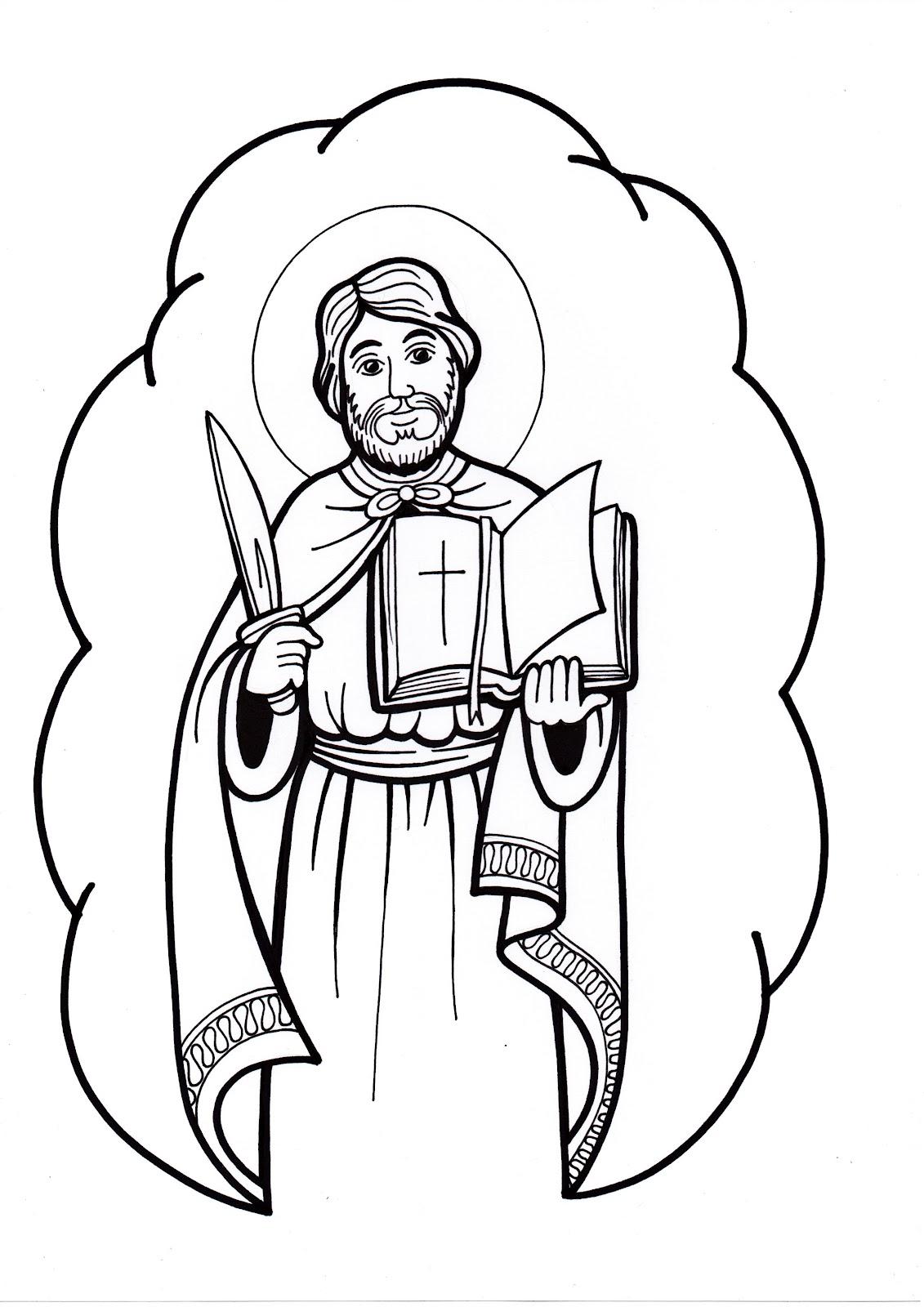 Saints Coloring Pages