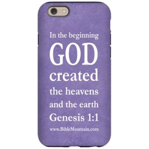 Gen 1:1 In the beginning God created the heavens and the earth.