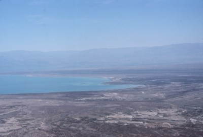 Picture of the southern end of the Dead Sea
