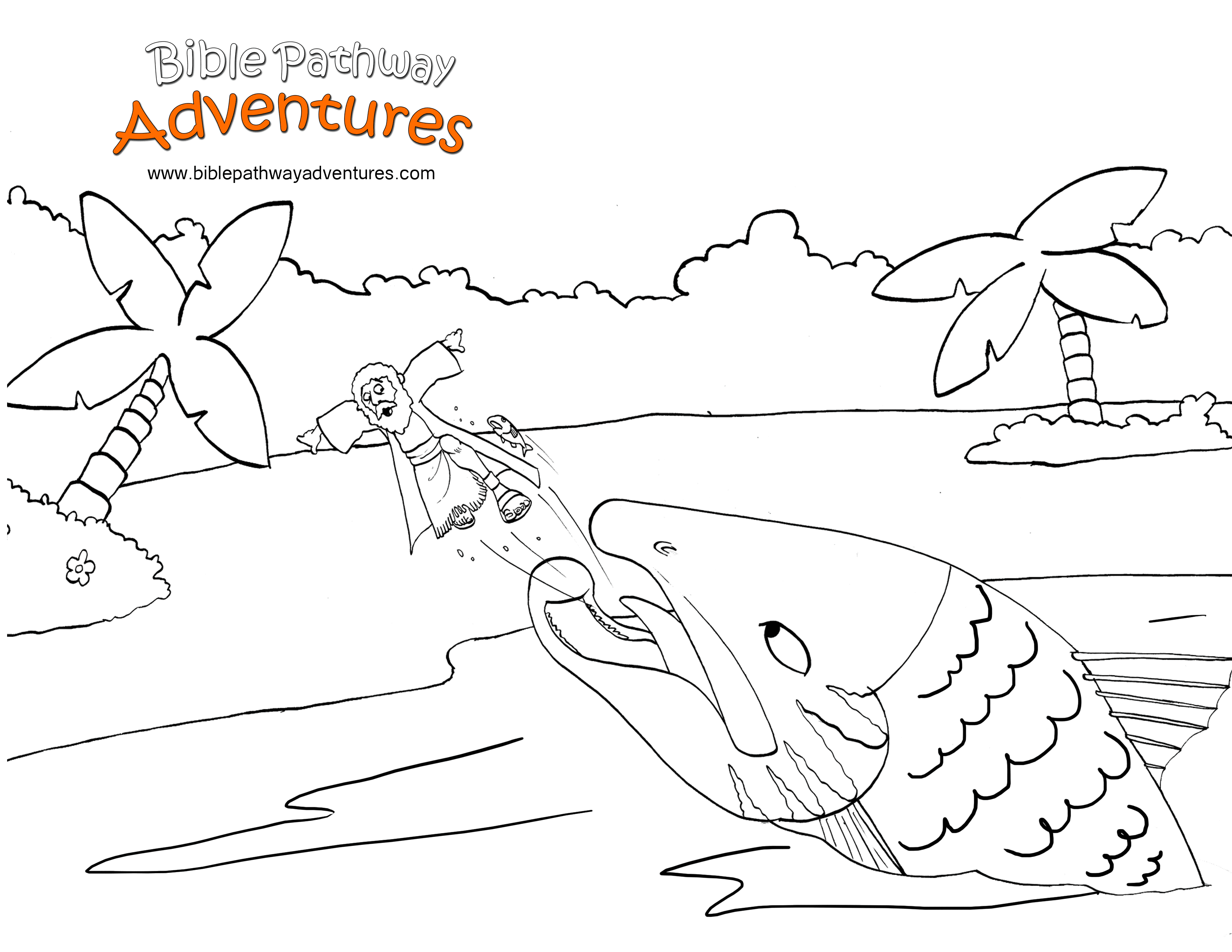 Jonah Coloring Pages And Activities Coloring Pages
