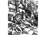 The destruction of the idolatrous Israelites before their idols - Ezek.6.4,5