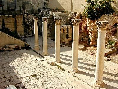 Cardo máximo de los romanos en Jerusalén