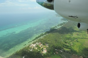 Emerald green waters of Bantayan Island