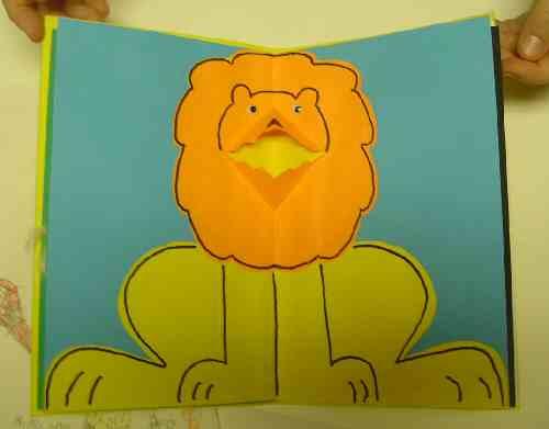 King David Book Lion