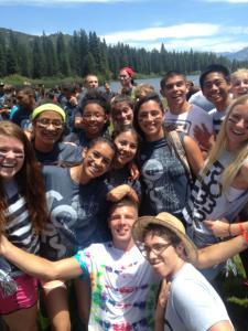 Students at Camp