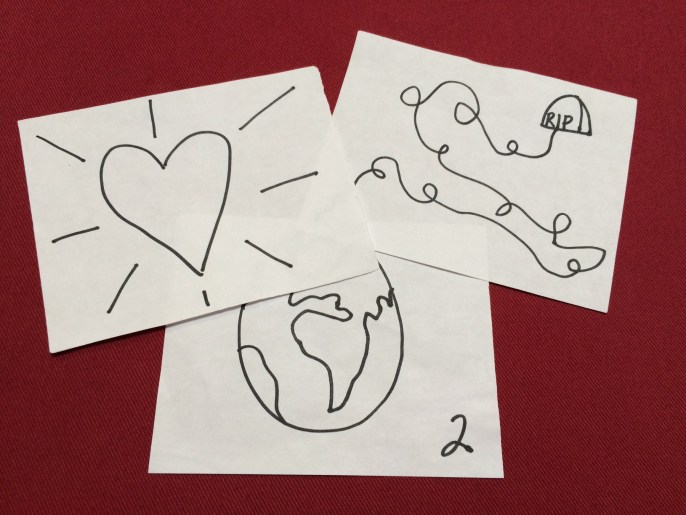 Hand Drawn Bible StoryBoards #5,#13,#15