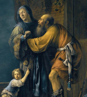 abraham-pleads-with-sarah Abraão esteve  cara a cara para falar com Jesus?