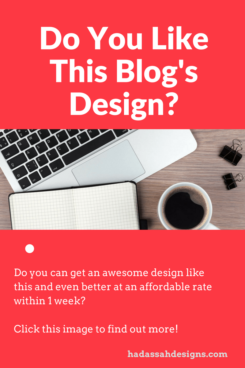 get an awesome blog/website design