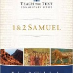 Teach the Text Samuel Commentary in Logos