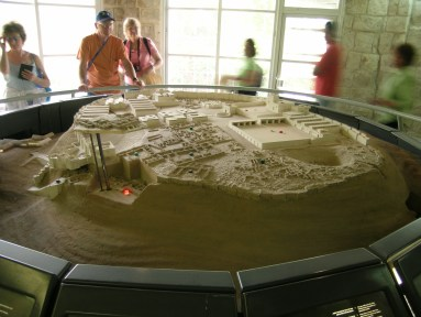 Model of Tel-Megiddo