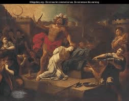 Jephthah sacrifices his daughter
