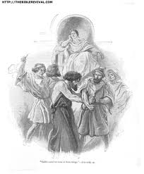 Gallio shows no concern for the Greeks who beat the ruler of the synagogue. (picture from thebiblerevival.com)