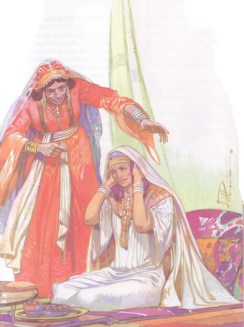 Peninnah hassled Hannah each year they went to the feast at Shiloh