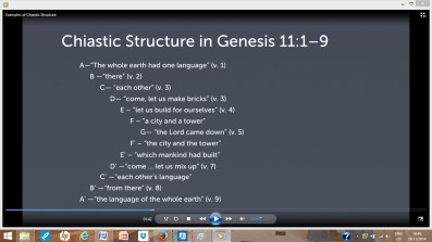 Chiastic structures occur frequently in Scripture and recognizing them can aid biblical interpretation.