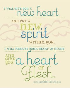 The promise of the new heart and spirit will be interpreted as the promise of the Holy Spirit by NT believers.