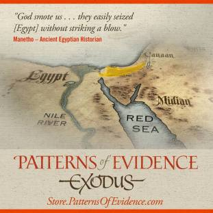 For more information on Patterns of Evidence: Exodus see the website at patternsofevidence.com