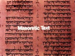 Image result for image of the masoretic texts