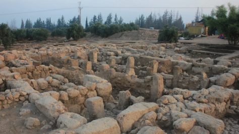 archaeological discoveries--royal estate of omri