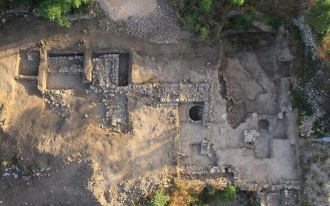 archaeological discoveries--Temple at Motza