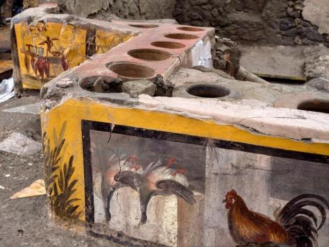 Snack bar in Pompeii