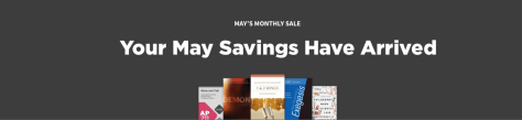 May Deals at Logos