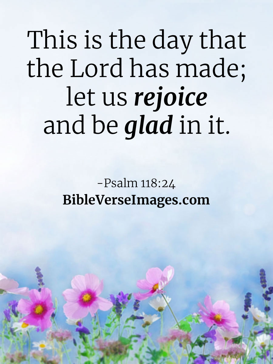 Image result for Let us rejoice and be glad in it kjv