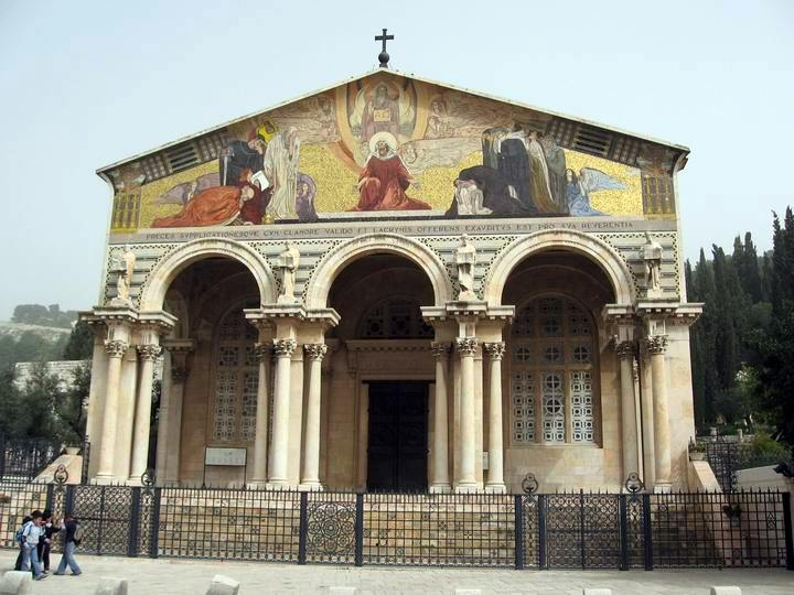 The Basilica of the agony - Gethsemane